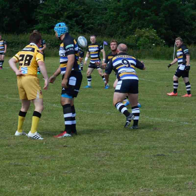 1st Team v Northampton Demons - 25th June 2016