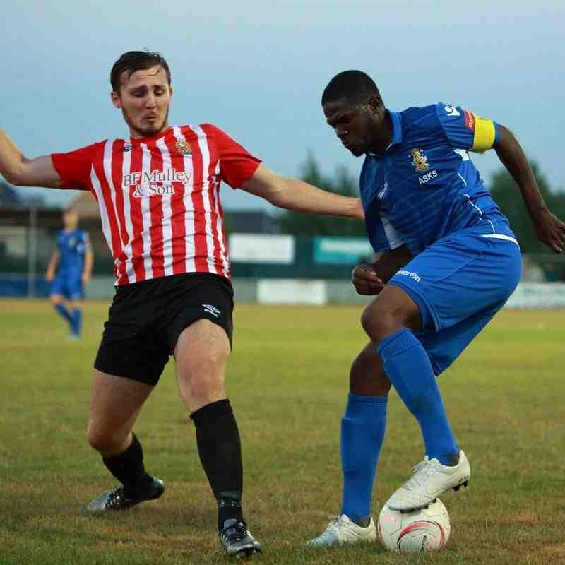 19/08/16 - FA Cup - Aveley 0-1 AFC Hornchurch