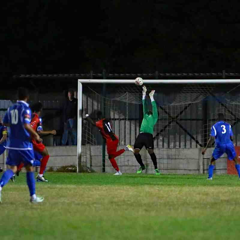 13/09/16 - Alan Turvey Trophy - Aveley 1-2 Greenwich Borough