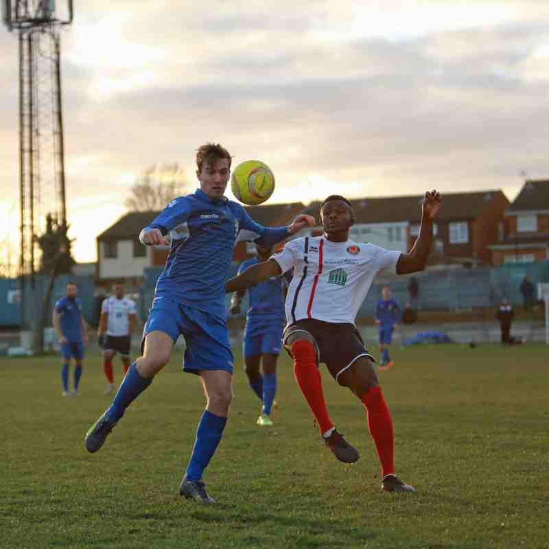03/12/16 - Aveley 2-2 Witham Town
