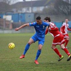 11/02/17 - Aveley 1-1 Bowers & Pitsea