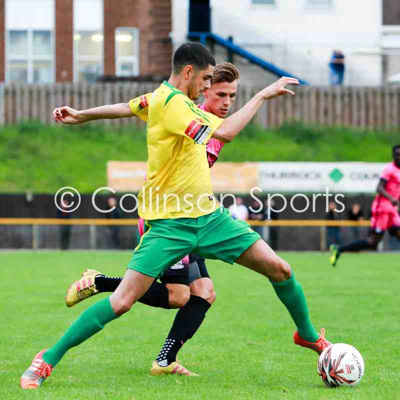 26/07/17 - Thurrock FC 1-1 Southend United U21's
