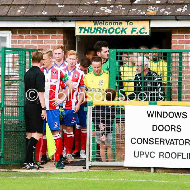 19/08/17 - Thurrock 3-2 Dorking Wanderers