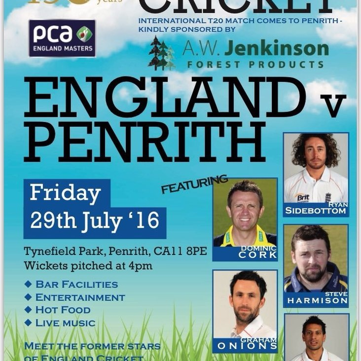 150th PCA Masters Game! <
