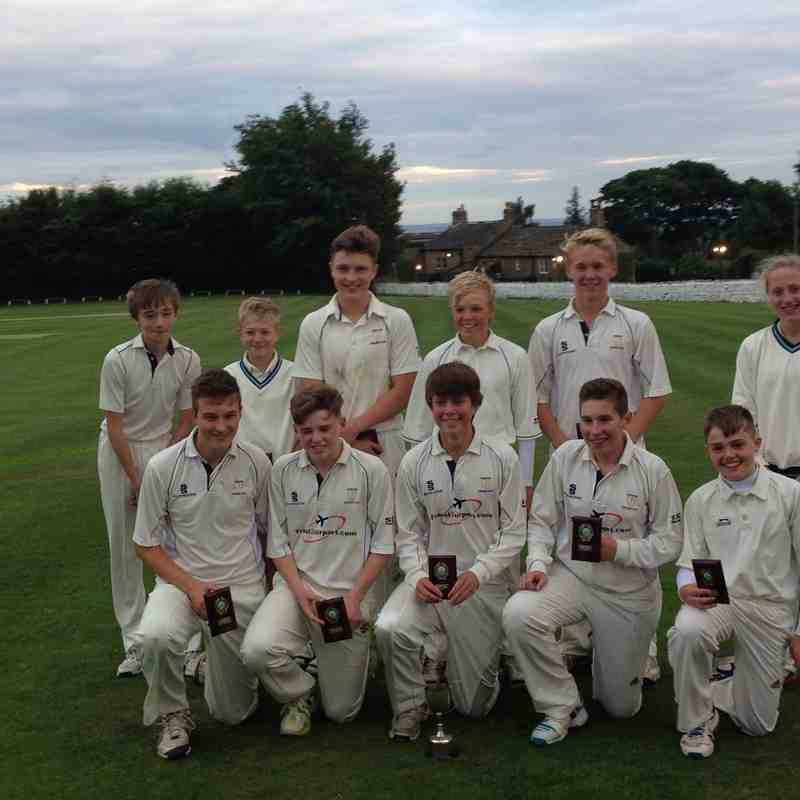 Under 15's Grove Hill Trophy 2015