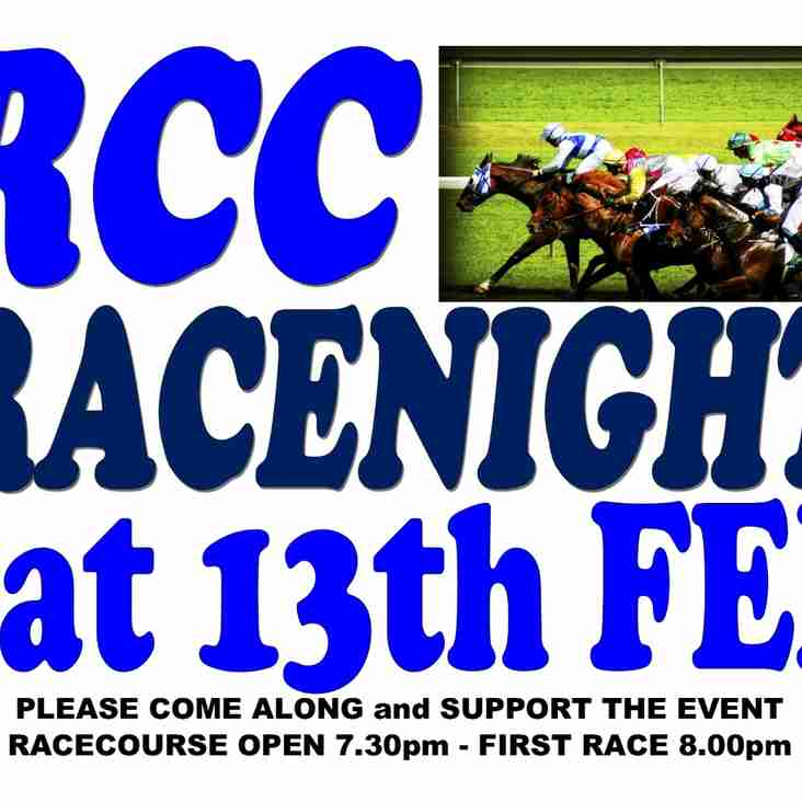 Under Starters Orders For Racenight - 13th February