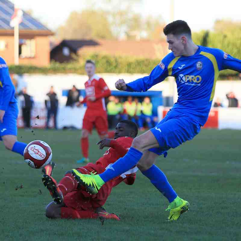 Radcliffe Borough 1-2 Droylsden 5/11/16