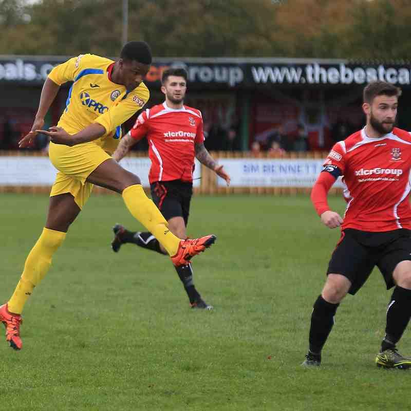 Colne 2-2 Radcliffe Borough match report 12/11/16