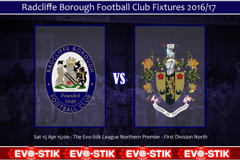 Brighouse Town 15th April - Ticket News