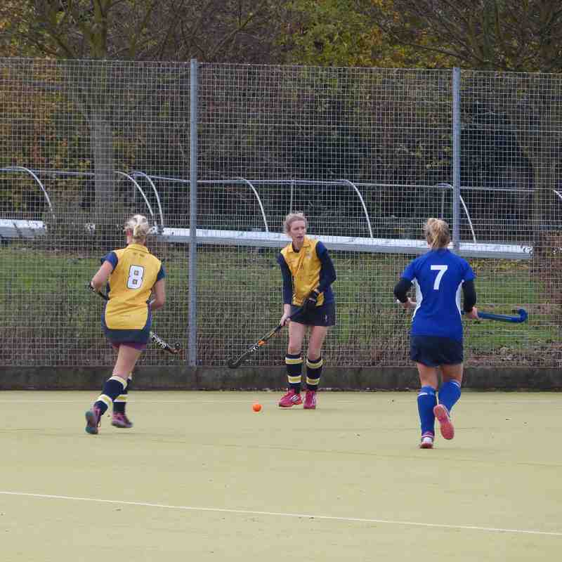 Ladies 1s v Folkestone 2s - 05/11/16