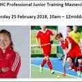 OWHC Professional Junior Training Masterclass