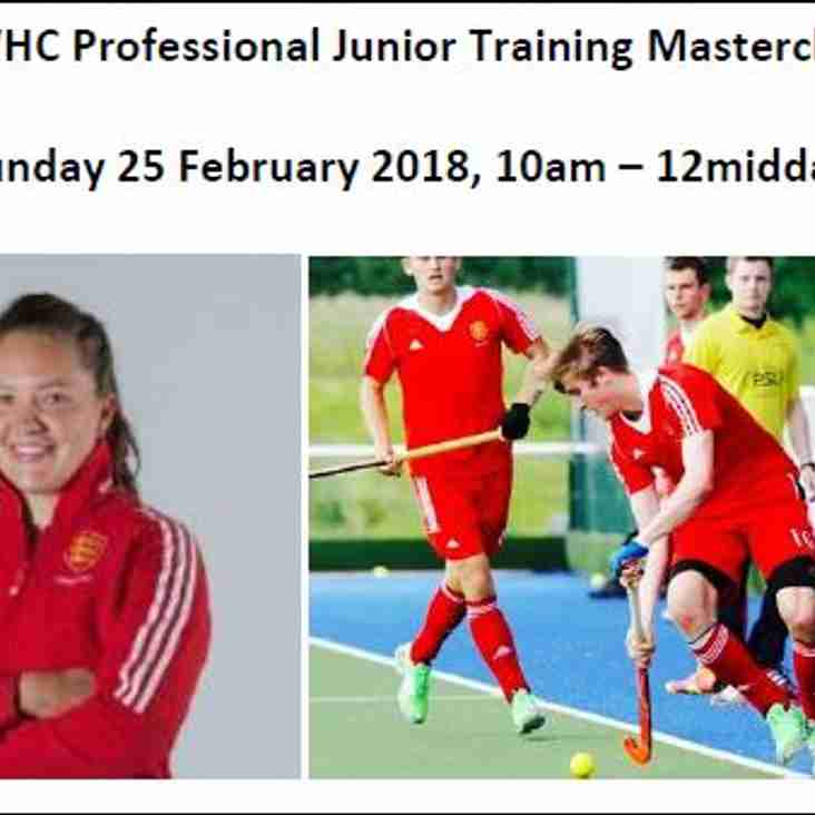 OWHC Professional Junior Training Masterclass