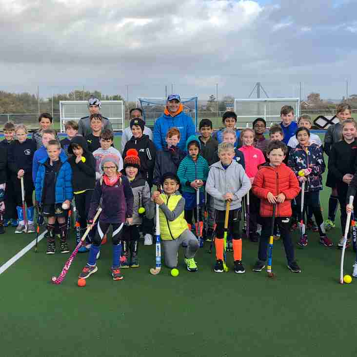 OWHC - Junior Masterclass Session with British Olympian, Calum Giles