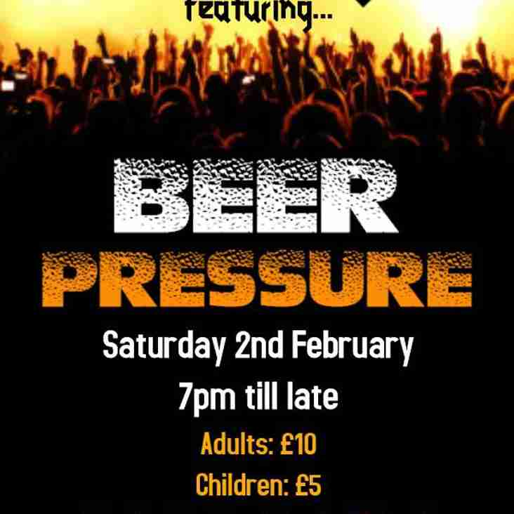 Band Night – OWHC Presents Beer Pressure