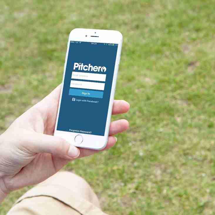 Using the Alphington FC Pitchero Application