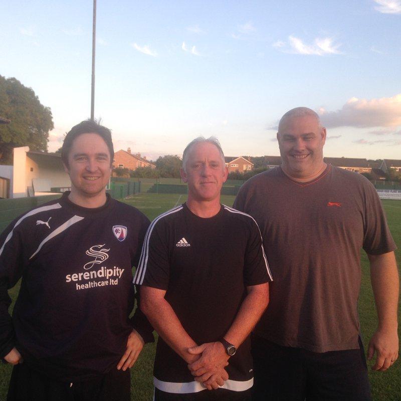 Reserves complete management team