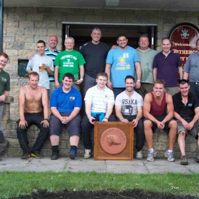 Club Spruce Up Day 7th July 2012