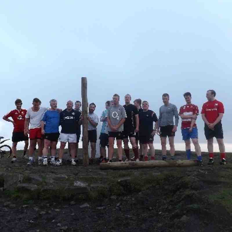 PENDLE HILL LOG RUN 3rd July 2013