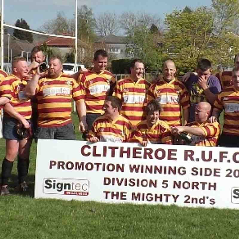 2nd XV promoted