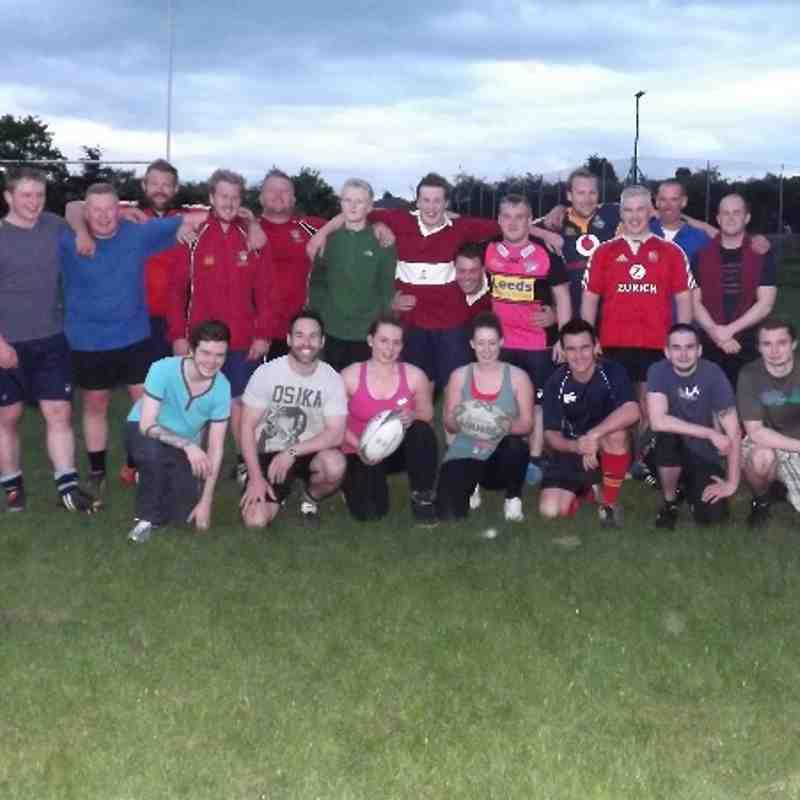 Touch Rugby Practice Week 3 @ Littlemoor