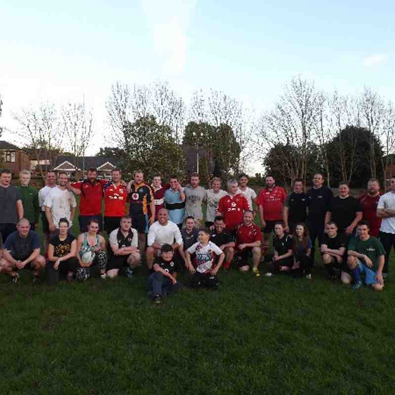 TOUCH RUGBY PRACTICE: WEEK 4