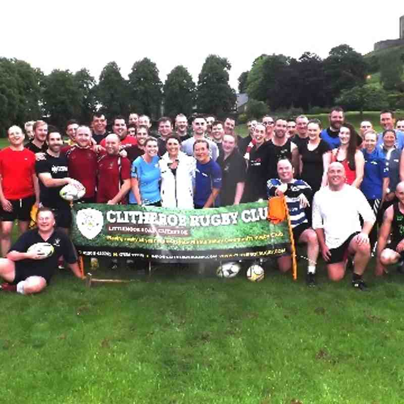 Clitheroe Touch Rugby @ Castle Field Week 1
