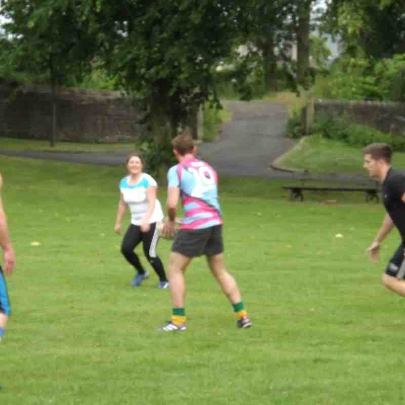 Touch Rugby on the Castle Field : Week 5