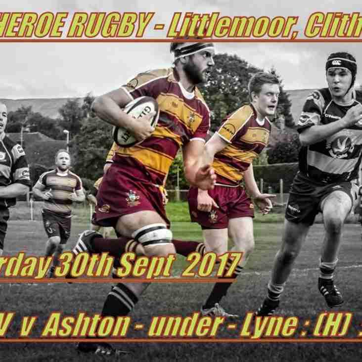 Big Game at Littlemoor this Saturday