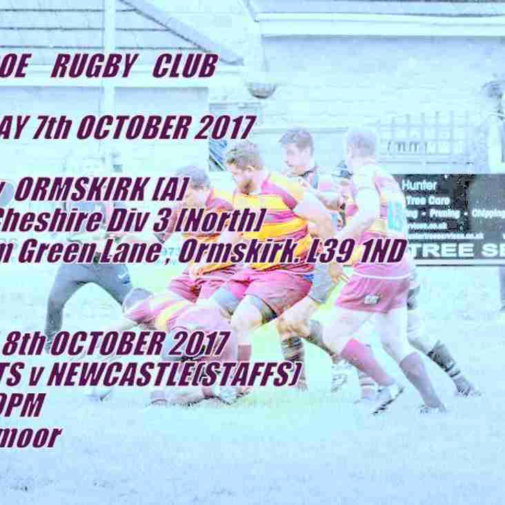 Road Trip for 1st XV this Saturday