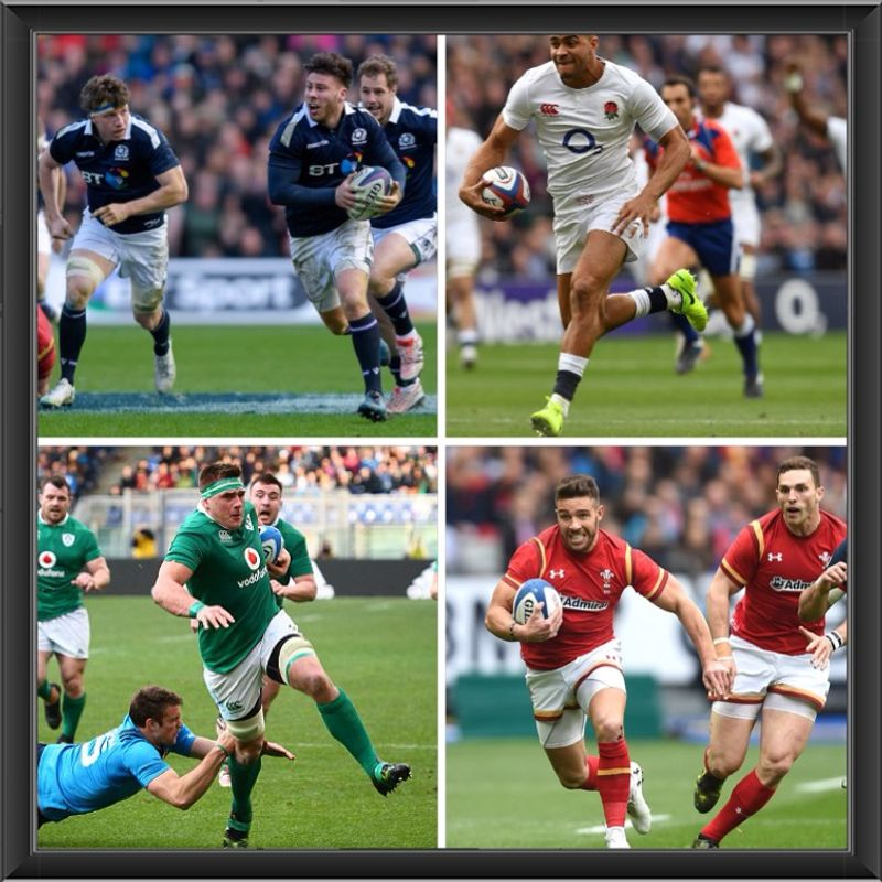 6 Nations Rugby at the Club this Weekend