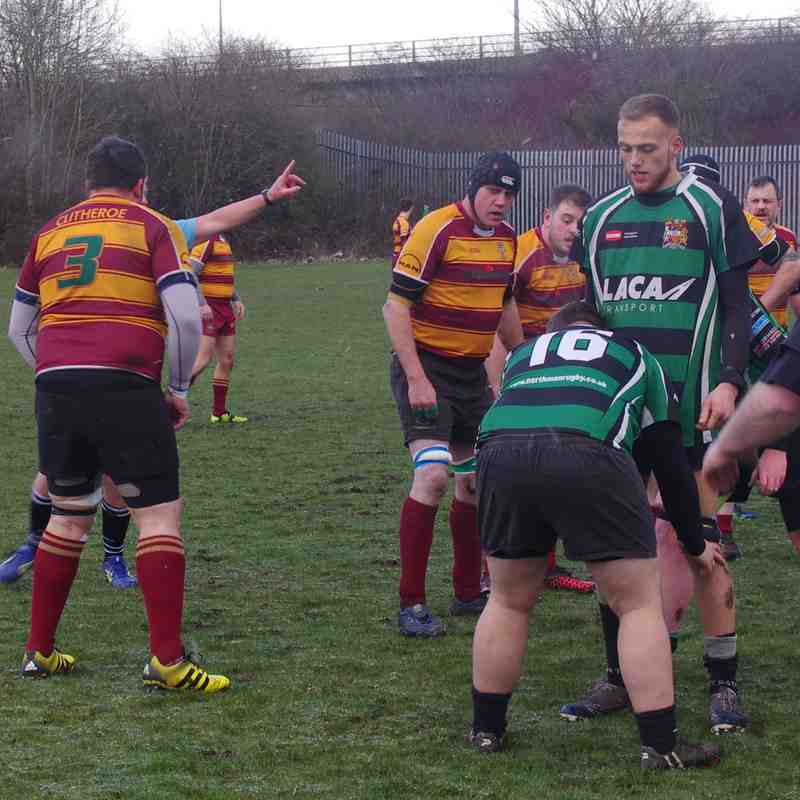 1st XV v North Manchester 17th March 18