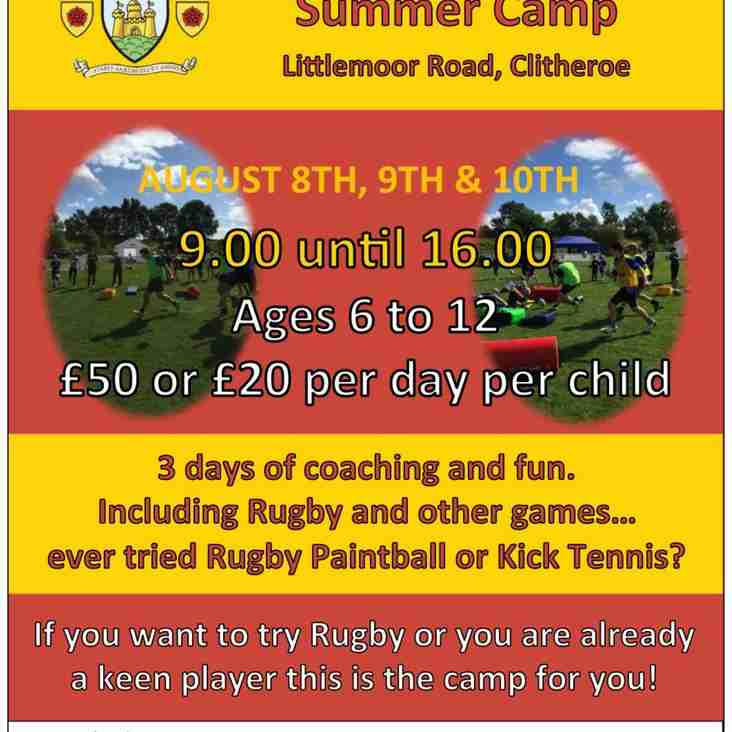 The popular Summer Camp is back.