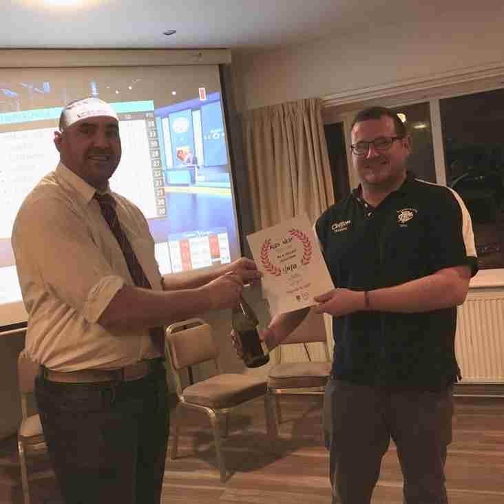 Volunteer Award For Alex