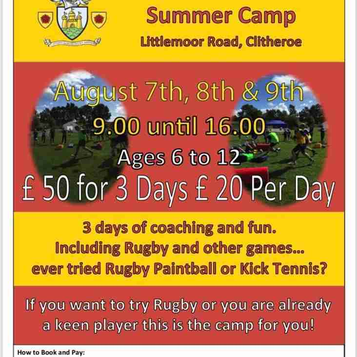 The Summer Camp is Back
