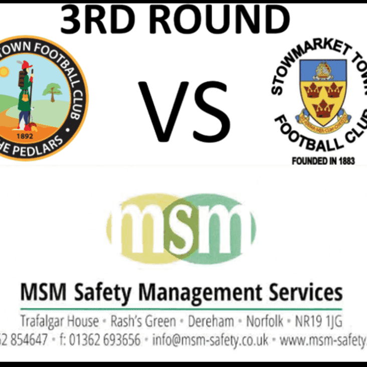 FA Vase Match  & Ball Sponsor is - MSM Safety Management Services