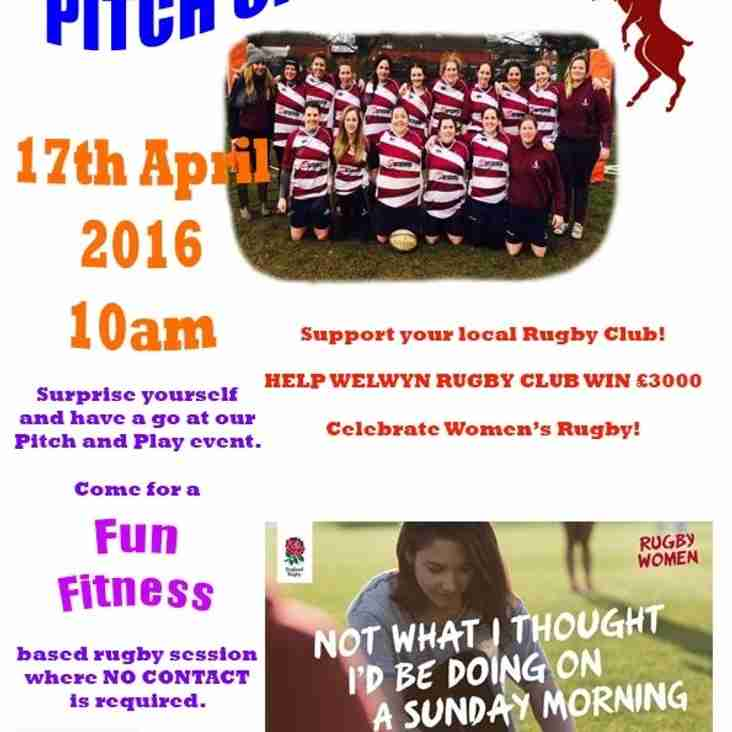 Come and SUPPORT your local, community Rugby Club and help us try to win £3000!