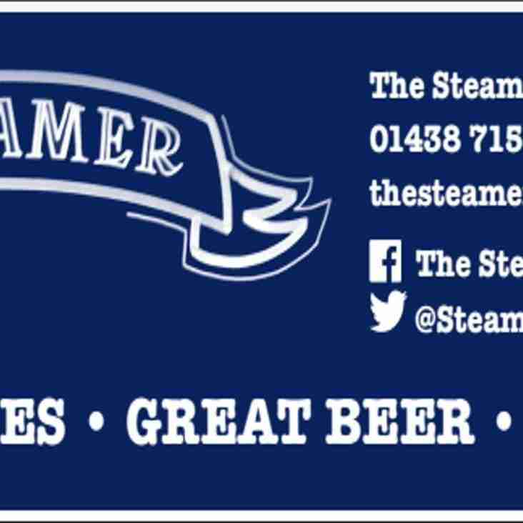 2016/17 Man of the Match Sponsor: The Steamer , Old Welwyn