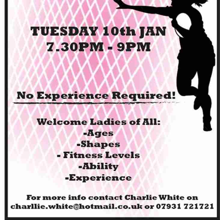 Welwyn Ladies Open Training Session
