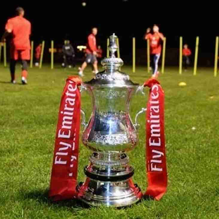 Vickers drawn away to Egham Town in FA Cup