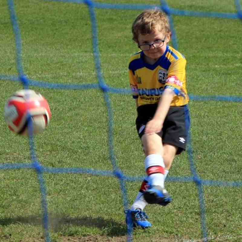 Radcliffe Juniors Launch Day