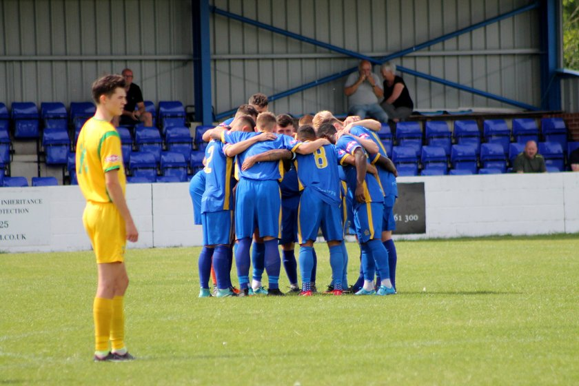 First Team lose to Lancaster City 2 - 2