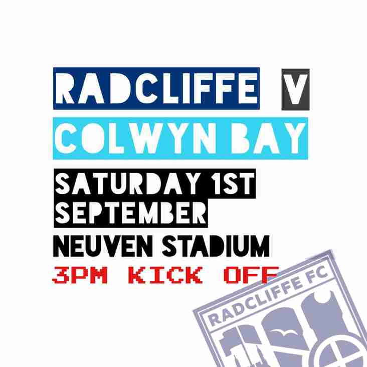 Colwyn Bay Preview