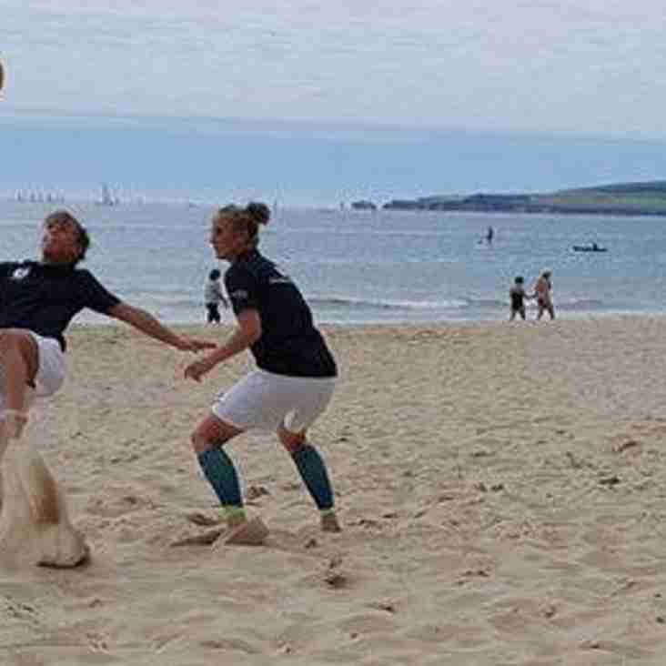 Going on holiday this summer? Then why not give beach soccer a try!