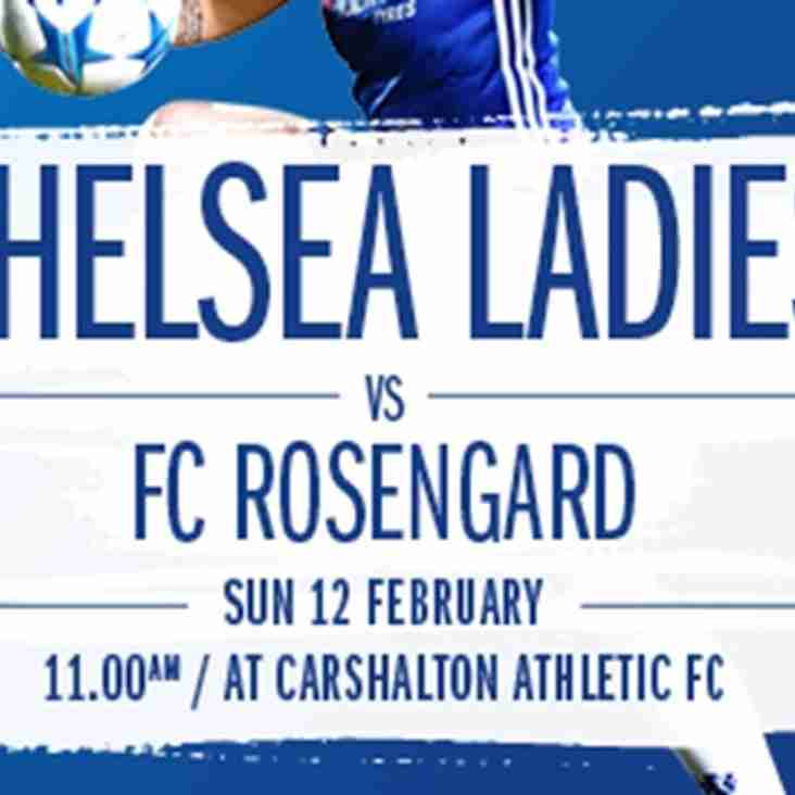 Chelsea Ladies Pre-season Friendly!
