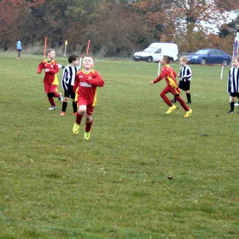BUYFC v Chipping Norton Swifts, Under 7 friendly