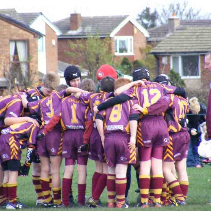 Churwell Chiefs ARLFC Under 10's Images
