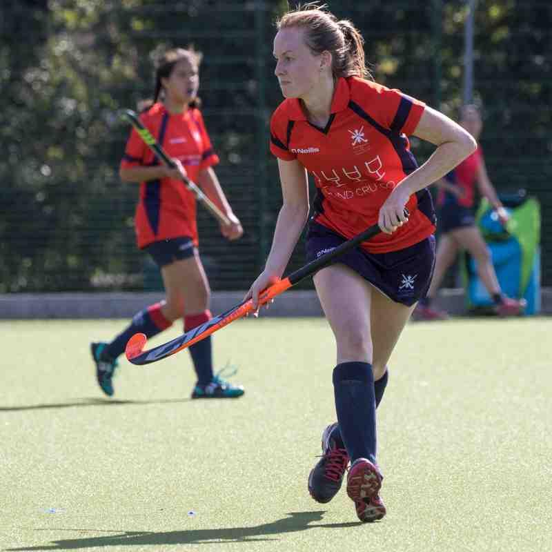 Ladies 3s vs Folkestone 29.09