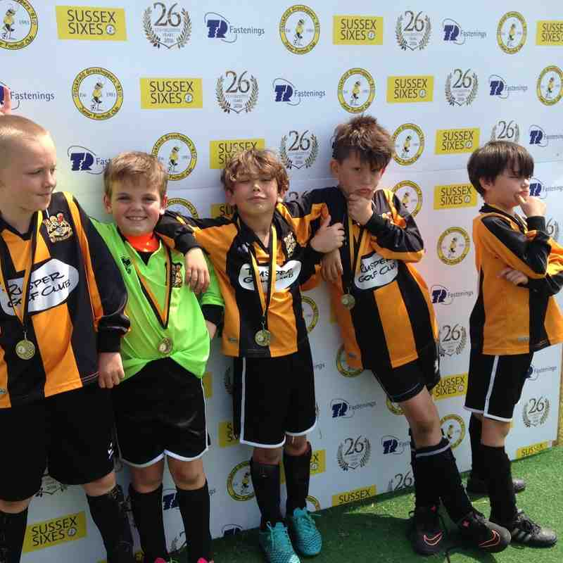 U9s 2016/17 season Three bridges FC