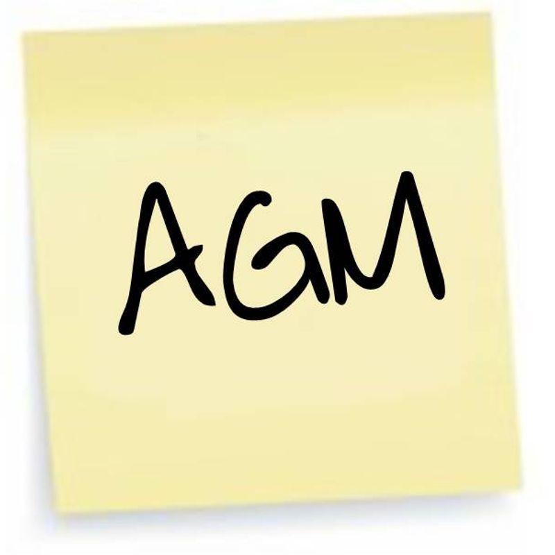 AGM date confirmed - Thursday 29th June 7.30pm. Everybody welcome.