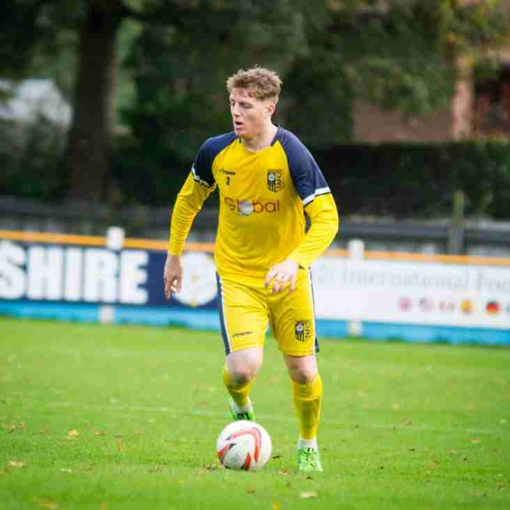 NEW SIGNING - Dan Clayton has become the forth new addition for Knaresborough Town